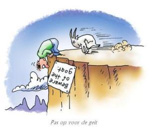 pas op voor de geit