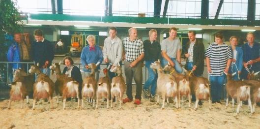 1998 Vebo Leiden; eigenaarsgroepen toggenburger geiten. ( met veel leden van de Kring A&V,)