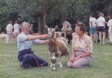 1991 VZOD; Algemeen kampioen Gerlantje 4 fam. Sterk, Arkel.