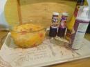 Ingrediënten voor ijsbuffet.