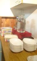 Voorbereidingen voor ijsbuffet